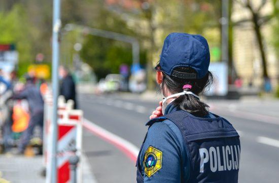 policija, policistka