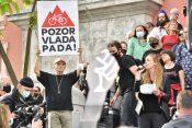 Petkov protivladni protest