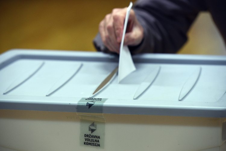 volilna skrinjica