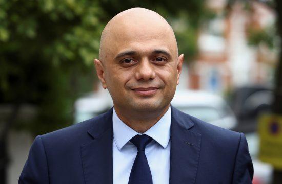 Minister za zdravje Sajid Javid