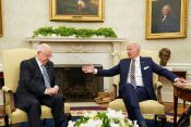 Joe Biden in Reuven Rivlin