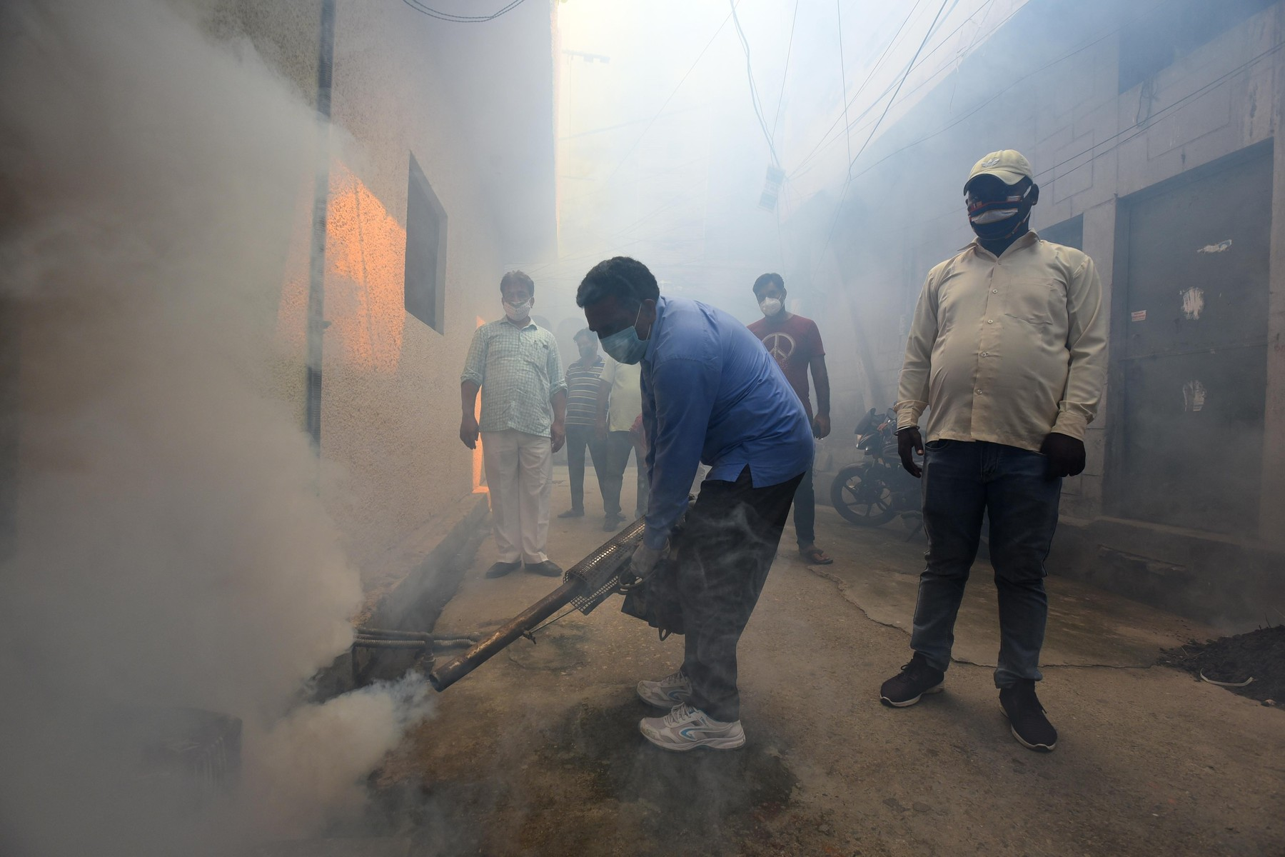 Fumigacija komarjev v Indiji
