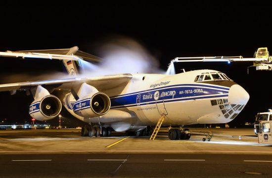 strateško transportno letalo Iljušin Il-76TD