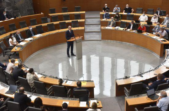 Janez Janša v državnem zboru