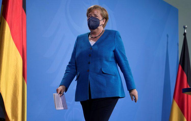Nemška kanclerka Angela Merkel