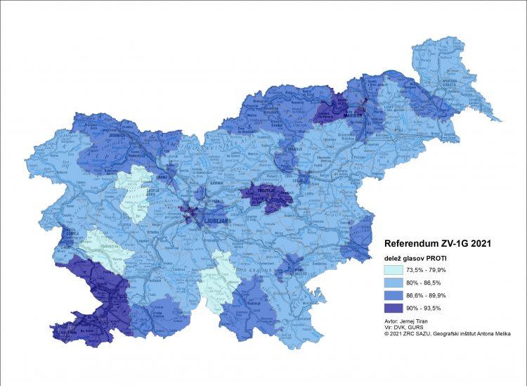 referendum 2021 zemljevid vode glasovanje