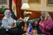 Egipt: donacija cepiva