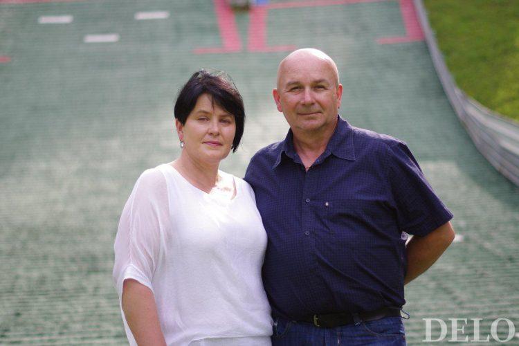 Anita in Polde Roglič