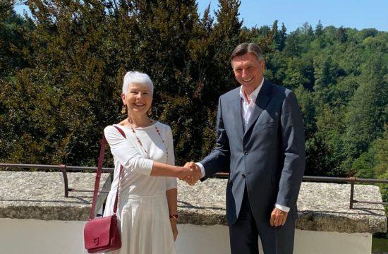 Borut Pahor, Jadranka Kosor
