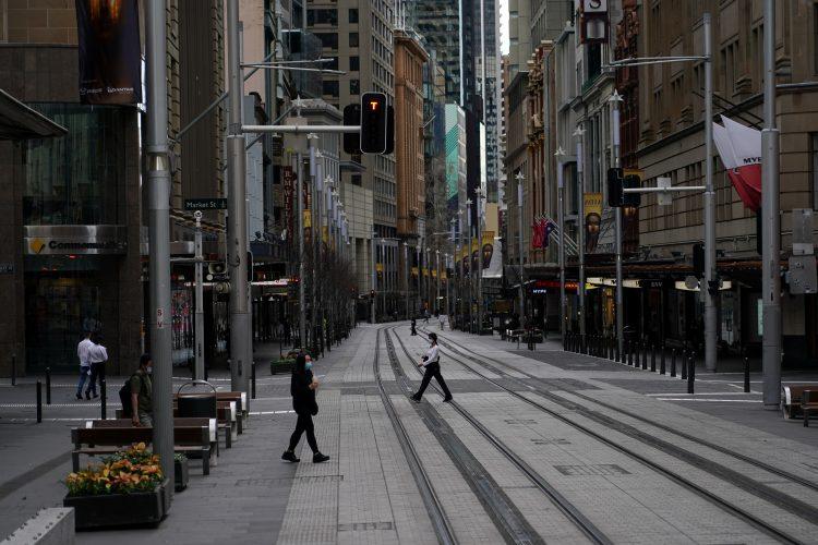 Zaprtje Avstralije zaradi koronavirusa