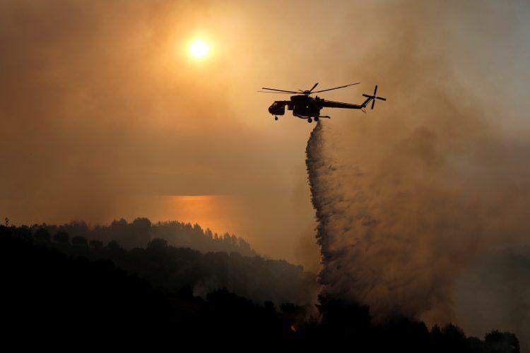 Požar Grčija