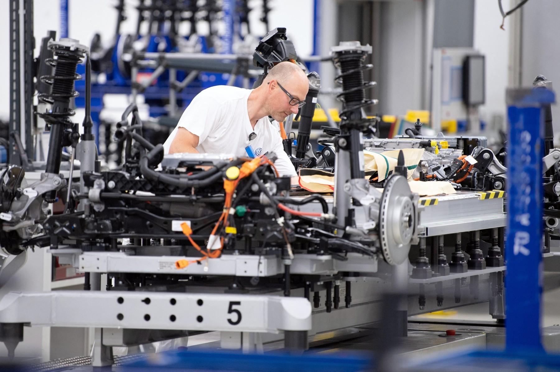 Proizvodnja električnega avtomobila v Dresdnu
