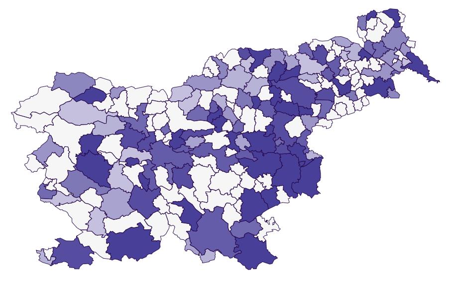 Interaktivni zemljevid pametnih mest v Sloveniji