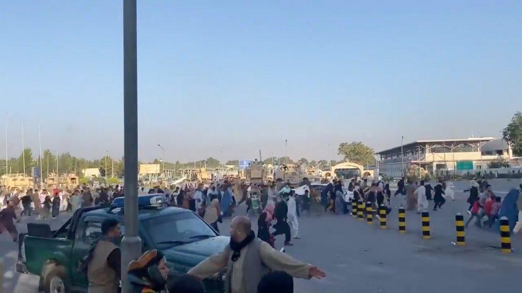 Letališče v Afganistanu po prihodu Talibanov