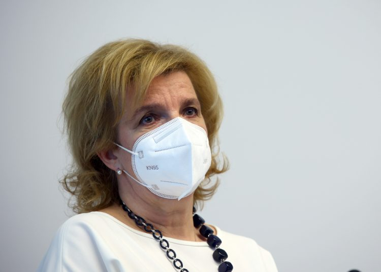 Bojana Beović, koronavirus, pct pogoj