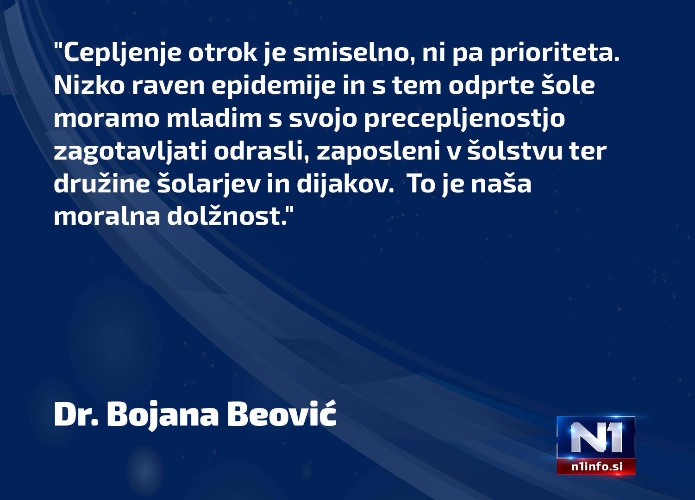 izjava Bojana Beović
