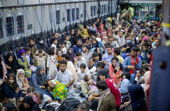 afganista, evakuacija