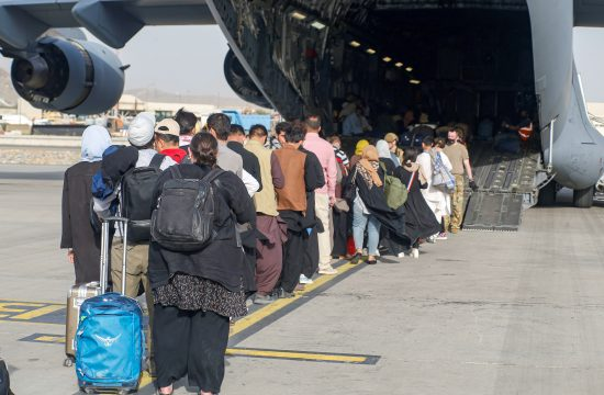 Evakuacija ljudi iz Afganistana