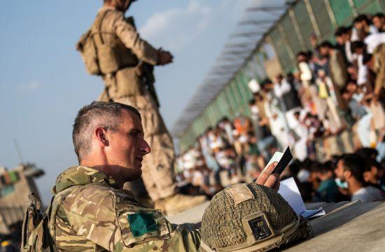 Britanski vojaki v Agfanistanu