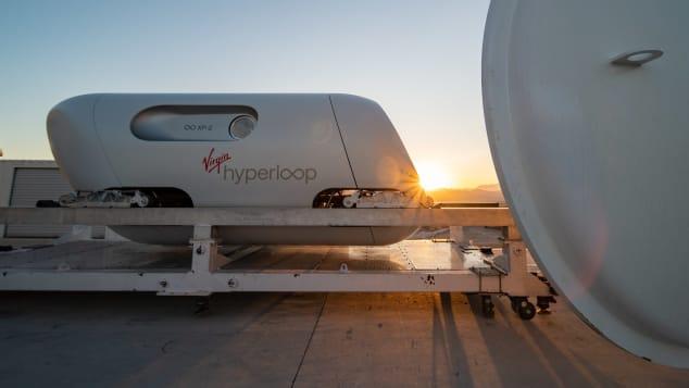 Virgin Hyperloop kapsula