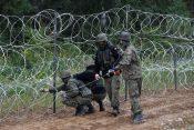 Ograja na meji med Poljsko in Belorusijo