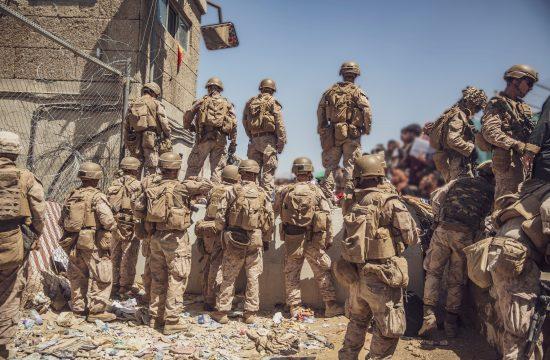 Umik: Ameriški vojaki na letališču v Kabulu
