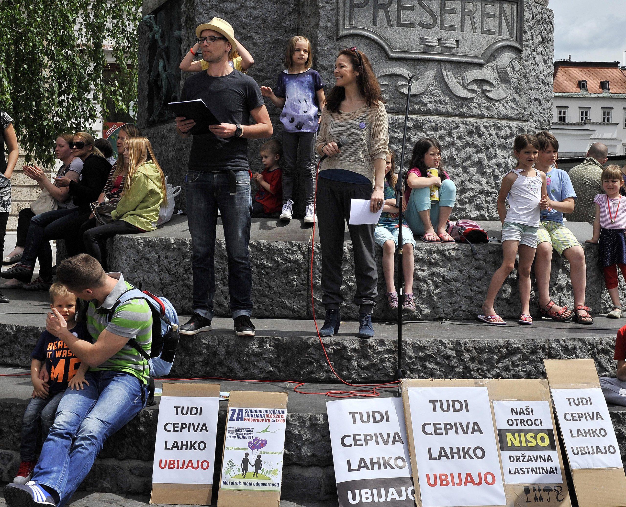 Protest cepljenje