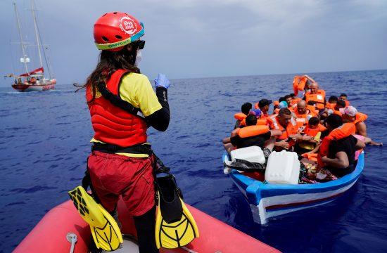 migranti, sea-eye