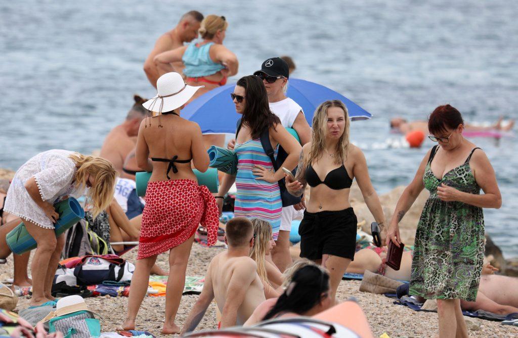 Plaža Hrvaška morje