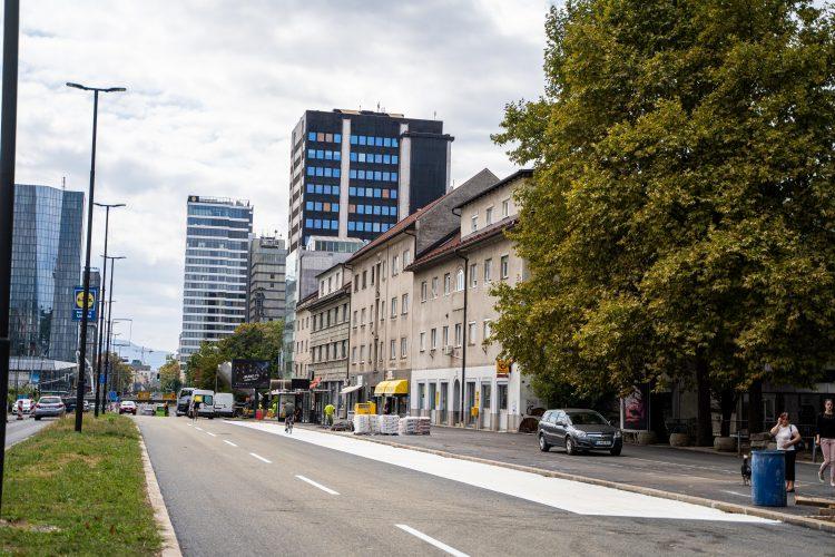 prenovljena Dunajska cesta, MOL, Ljubljana