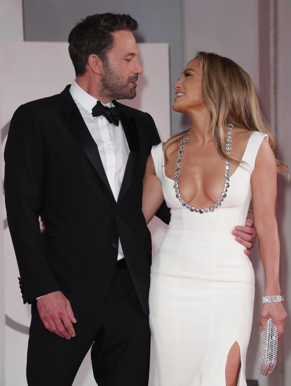 Jennifer Lopez in Ben Affleck, rdeča preproga, Benetke