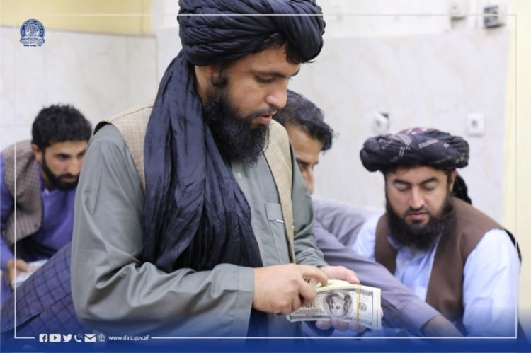 Talibani: zaseg denarja v Afganistanu