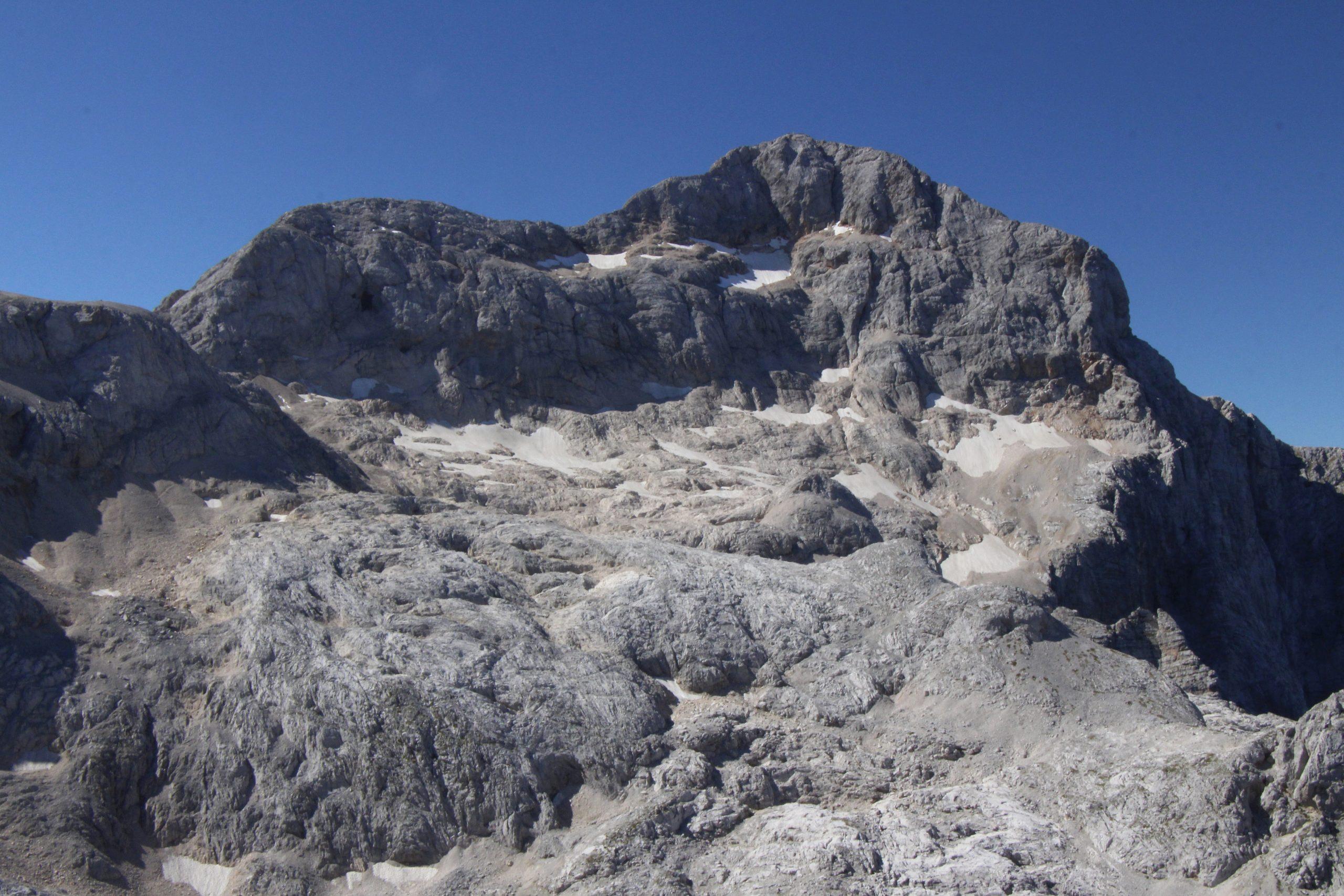 Triglavski ledenik z Begunjskega vrha