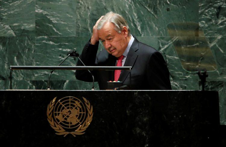 ZN, antonio Guterres