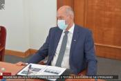 Janez Janša na preiskovalni komisiji
