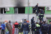 Bolnišnica Romunija požar