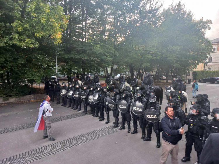 protesti, Ljubljana