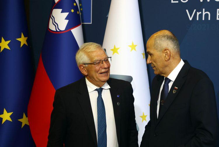 Joseph Borel in Janez Janša