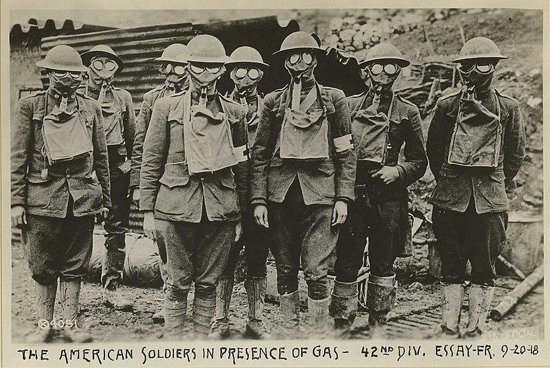 plinske maske v prvi svetovni vojni