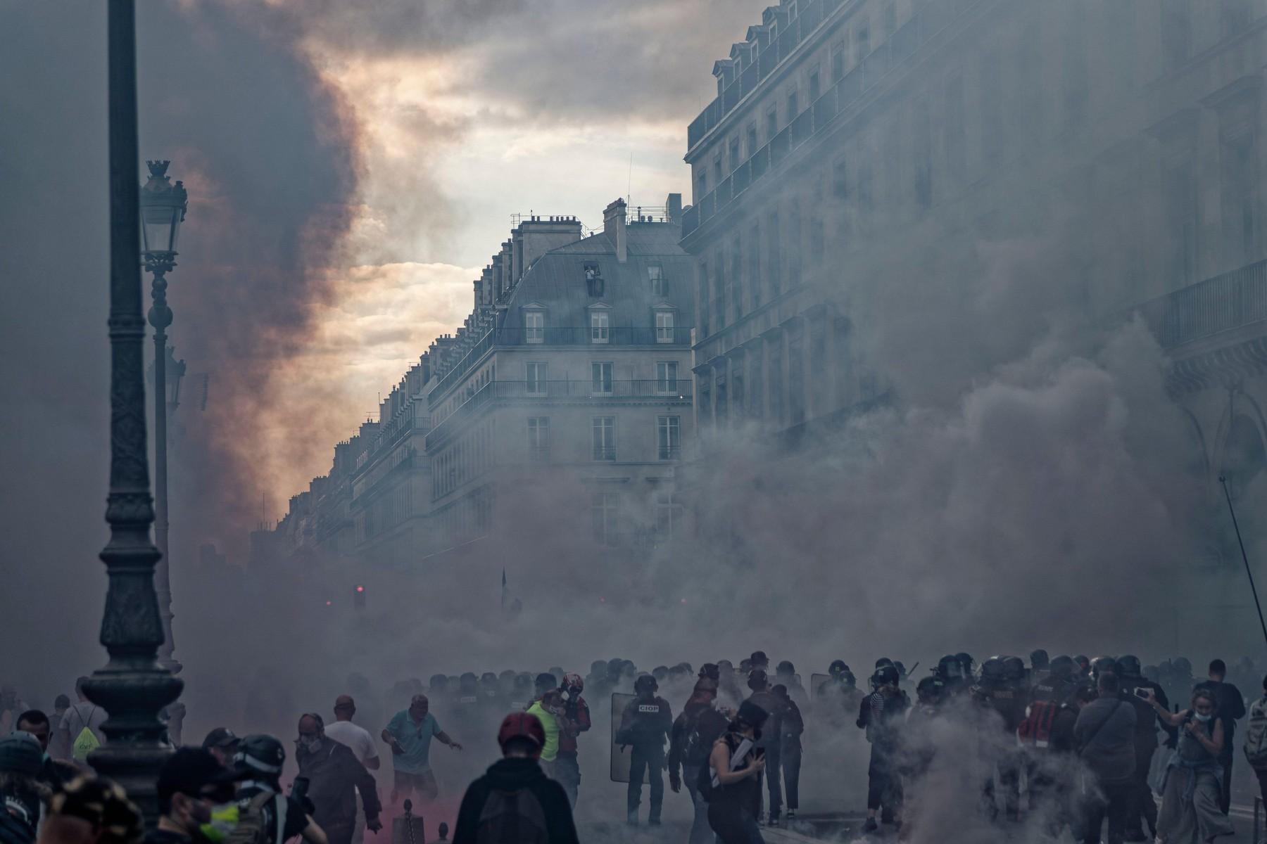 Solzivec v Parizu