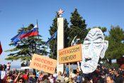 Marezige: protestni shod