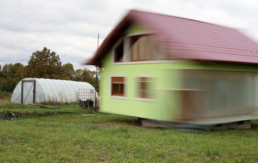 Vrtljiva hiša