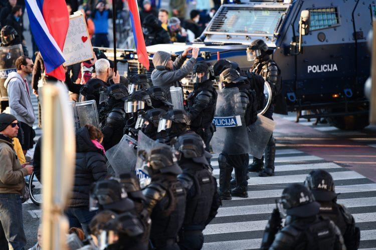 protesti 13. 10. 2021