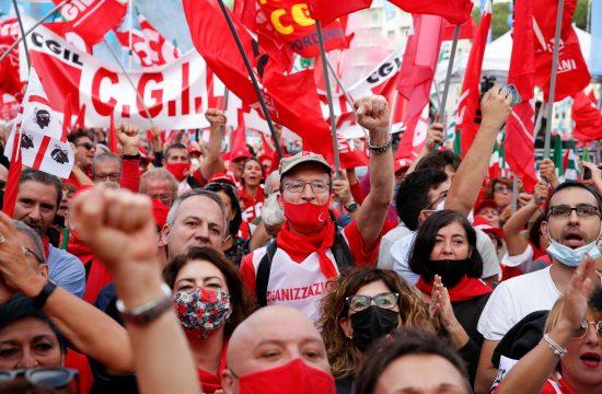 protesti proti fašizmu v Rimu