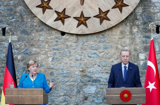 Angela Merkel, Tayyip Erdogan