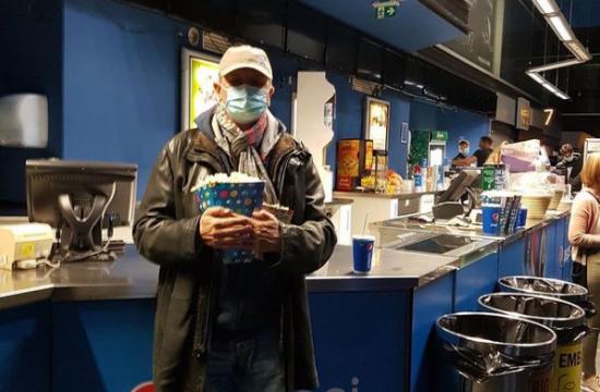 Borut Pahor v kinu