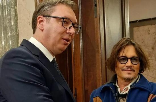Vučić in Depp