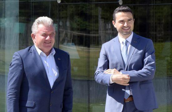 Andrej Vizjak, Matej Tonin