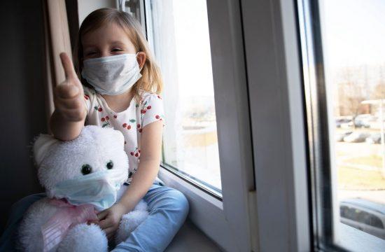 Pediatrinja: maske pri otrocih